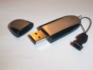 Portable flash drive